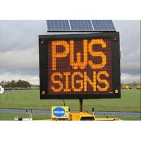 Buy cheap Full Color Outdoor LED Traffic Display Solar Powered VMS Control from wholesalers