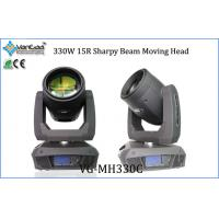 Buy cheap 15R 330W Beam Moving Head Stage Lights Wash Stage Light with Variable Speed Shutter / Strobe from wholesalers