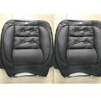 China Waterproof Car Seat Covers Grey Color Soft Leather Material With Foam Inside on sale