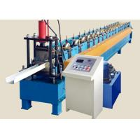 Buy cheap High Speed Round Gutter Machine , PLC control Metal Gutter Bending Machine product