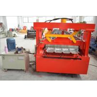 Buy cheap Thick Galvanized Steel Roof Panel Roll Forming Machine with Chain Driving System from wholesalers
