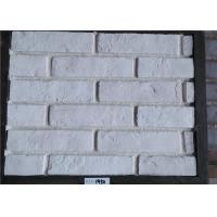Buy cheap White Faux Exterior Brick Decoration Thickness 10-15mm Solid Surface from wholesalers