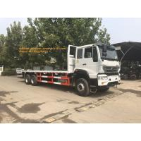 Buy cheap 4x2 6 Tires Sinotruk Howo Flatbed Truck For 10- 20T Load Capaicty LHD from wholesalers