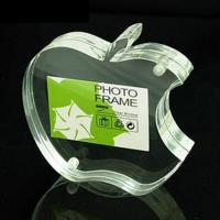 Buy cheap Apple Shape Acrylic Picture Frames With High Transparency For Family Gift from wholesalers