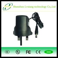 Buy cheap 12V 1A AC/DC power adapter wall mount ac adapter for cctv us uk euro from wholesalers