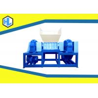 Buy cheap Single / Twin Shaft Hospital Waste Shredder Low Speed Customized Blade Material from wholesalers