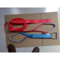 Buy cheap 50MM Ratchet Tie Down Straps LC2500 DIN EN 12195-2 Corrosion Resistance With Eyes product
