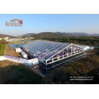 Buy cheap Aluminium Frame Outdoor Tents For Parties / Wedding With Transparent PVC Roof from wholesalers