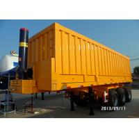 Buy cheap Semi Trailer Tipper Truck 3 Axles 70Tons 25-45CBM for Mining / Construction from wholesalers