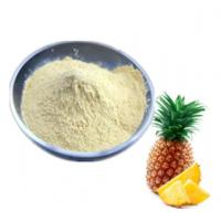 Buy cheap High Security Bromelain Food Additives Sweeteners Raw Material Thermal Stable from wholesalers