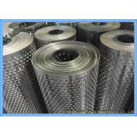 Buy cheap 48x96 triangle hole black perforated aluminum  metal sheet for Southeast Asia from wholesalers