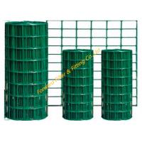 Buy cheap Green PVC Welded Wire Mesh Concrete Reinforced Steel Bar Welded Mesh Fence from wholesalers