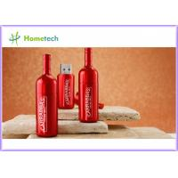 Buy cheap Wine Bottle Metal Thumb Drives product