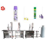 Buy cheap Automatic Spray Can Air Freshener Filling Machine , Aerosol Cans Spray Filling Machinery from wholesalers