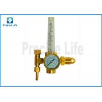 Buy cheap HTP G5/8 male thread Argon CO2 Mig Tig Flow meter , Medical Gas regulator from wholesalers