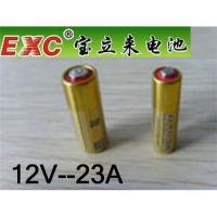 Buy cheap EXC 12V-23A Alkaline Battery from wholesalers