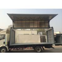 Left Driving Light Duty Wing Van Truck, 115HP 7.50R16 Tire Wing Body Truck 6 Wheels