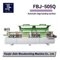 Buy cheap FBJ-505Q auto corner trimming Edge Banding machine / woodworking machinery with CE from wholesalers