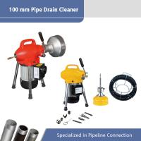 250 W 100 mm Sectional Pipe Electric Pipe Machine Drain ...