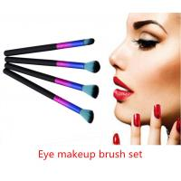 Buy cheap Professional Eye Makeup Brush Set Softable Multi - Colored With Long Handle from wholesalers