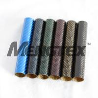 Buy cheap 3K Colorful Carbon Fiber Tube from wholesalers