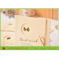 Buy cheap Luxury 3D Holiday Greeting Cards Offset Printing Wedding Invitation Cards from wholesalers