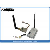 Buy cheap 2500m Long Distance Wireless Video Sender Mini 1.2GHz Wireless Transmitter and Receiver from wholesalers
