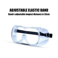 Buy cheap Unisex PVC Frame Disposable Protective Eyewear product