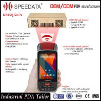 Buy cheap Dual Sim Card Android Handheld Smart Card Reader PDA LF Rfid Mobile Reader 125Khz from wholesalers