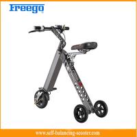 Buy cheap Mini Folding E Bike Childs Electric Scooter Foldable , Rechargeable Lithium Battery from wholesalers