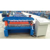 Buy cheap Iron Sheet Zink Metal Building Material Cold Roll Forming Machine For Metal Roofing from wholesalers