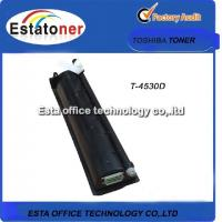 Buy cheap Toshiba T4530D Genuine Black Copier Toner Compatible For E-studio 455 from wholesalers