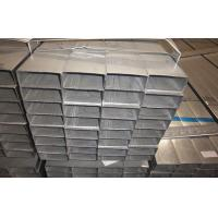Buy cheap Rectangular Hot Dipped Galvanized Steel Pipe / Welded Tubing EN10219 Q195 from wholesalers