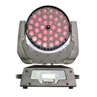 Buy cheap RGBW 4 IN1 36x10w LED Moving Head Disco Lights / Stage Strobe Lights from wholesalers