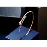 Buy cheap 18k gold diamond bracelet MARLI CLEO DIAMOND SLIM SLIP-ON BRACELET from wholesalers