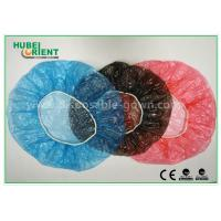Buy cheap Waterproof Disposable Head Cap , Plastic shower caps disposable for Hotel and Beauty Center from wholesalers