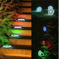Buy cheap 30LED RGB Color Changing Solar Ground Lamps Outdoor Lawn Solar Lights For Garden Path Road from wholesalers