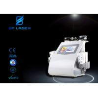 Buy cheap Body Shaping Ultrasound Cavitation RF Beauty Machine , Body Cavitation Machine With 8 Pads from wholesalers