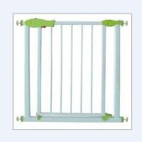 Buy cheap Pressure Mounted White Metal Baby Gates / Kids Safety Gate Expandable from wholesalers
