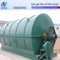 Buy cheap scrap tire pyrolysis oil machine to get oil, carbon black an steel wire from wholesalers