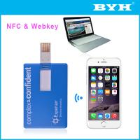 Buy cheap Paper card webkey with NFC from wholesalers
