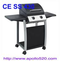 China Portable Gas Grill with 2 folding tables on sale