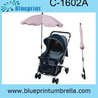 Buy cheap UV protection baby strollers umbrella from wholesalers