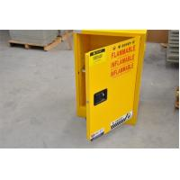 Buy cheap Yellow Fireproof Flammable Safety Cabinets 12 Gal / 45L With Adjustable Leveling Feet from wholesalers