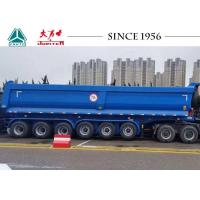 Buy cheap 70 Tons U Shape 6 Axle Dump Tipper Truck Trailer For Carry Rock / Aggregate from wholesalers
