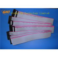 Buy cheap 1.27mm Pitch IDC Connectors Ribbon Cable / 40 Pin Flat Ribbon Cable Wholesale from wholesalers