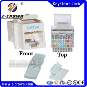 Buy cheap RJ45 Keystone Jack Cat5e Keystone Jacks product