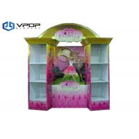 Buy cheap Lovely Popular Toys Cardboard POS Displays Six Shelves Glossy PP Lamination from wholesalers