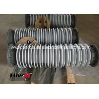 Buy cheap 110KV SF6 Breaker Hollow Core Insulators With Aluminum Flange Grey Color product