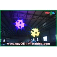 Buy cheap Indoor Giant Ceiling Inflatable Lighting Decoration Led Ball from wholesalers